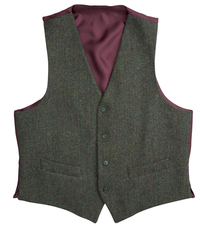 Barra Harris Tweed Waistcoat