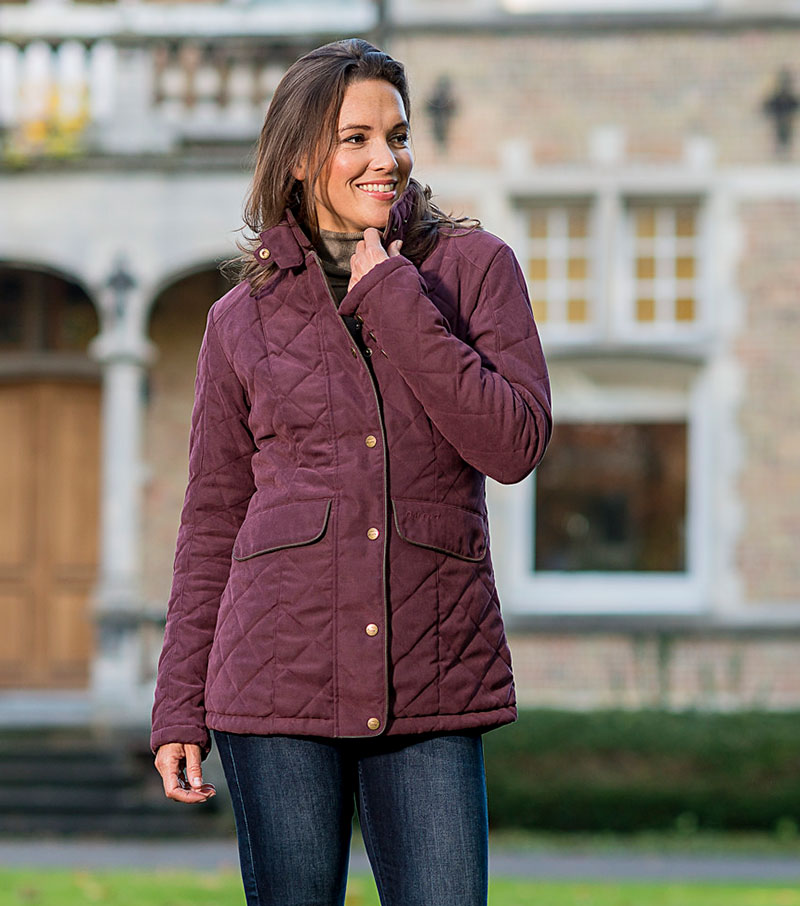 Cheltenham Quilted Jacket By Baleno Outerwear From Fife Country