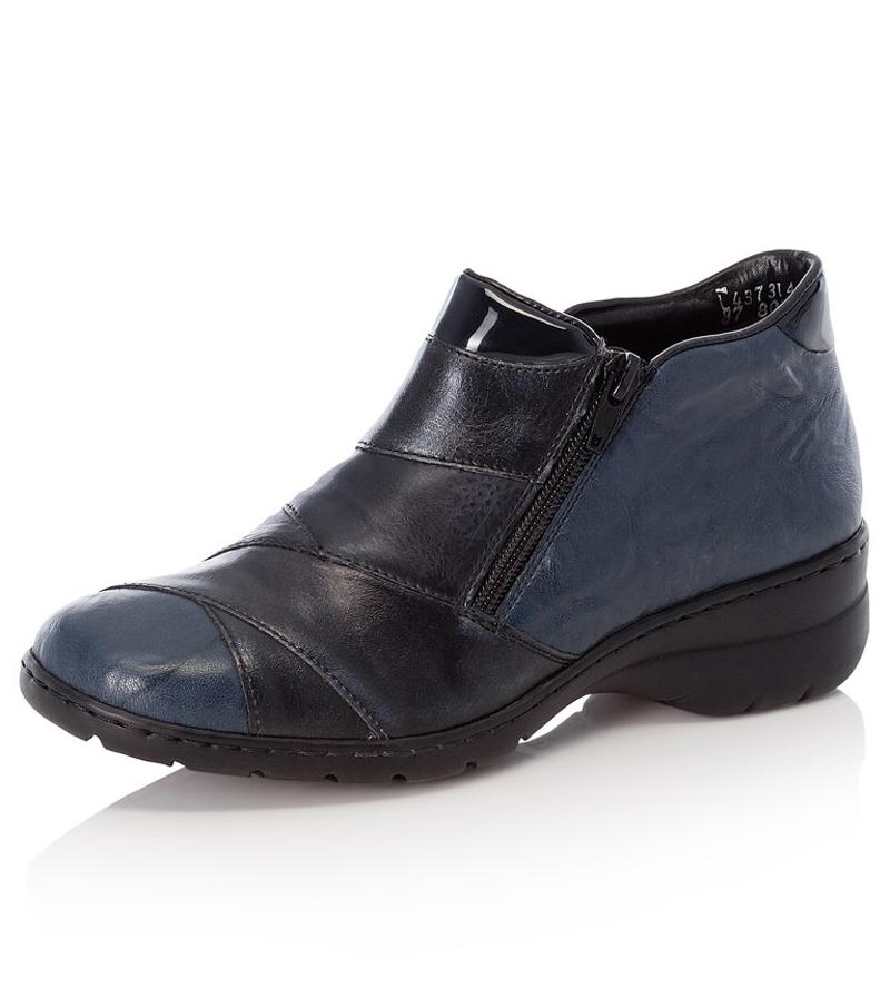 Rieker Side Zip Ankle Boot