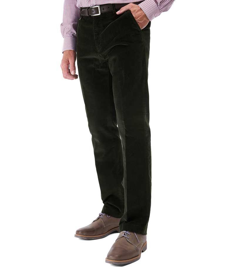 Stretch Needlecord Trouser