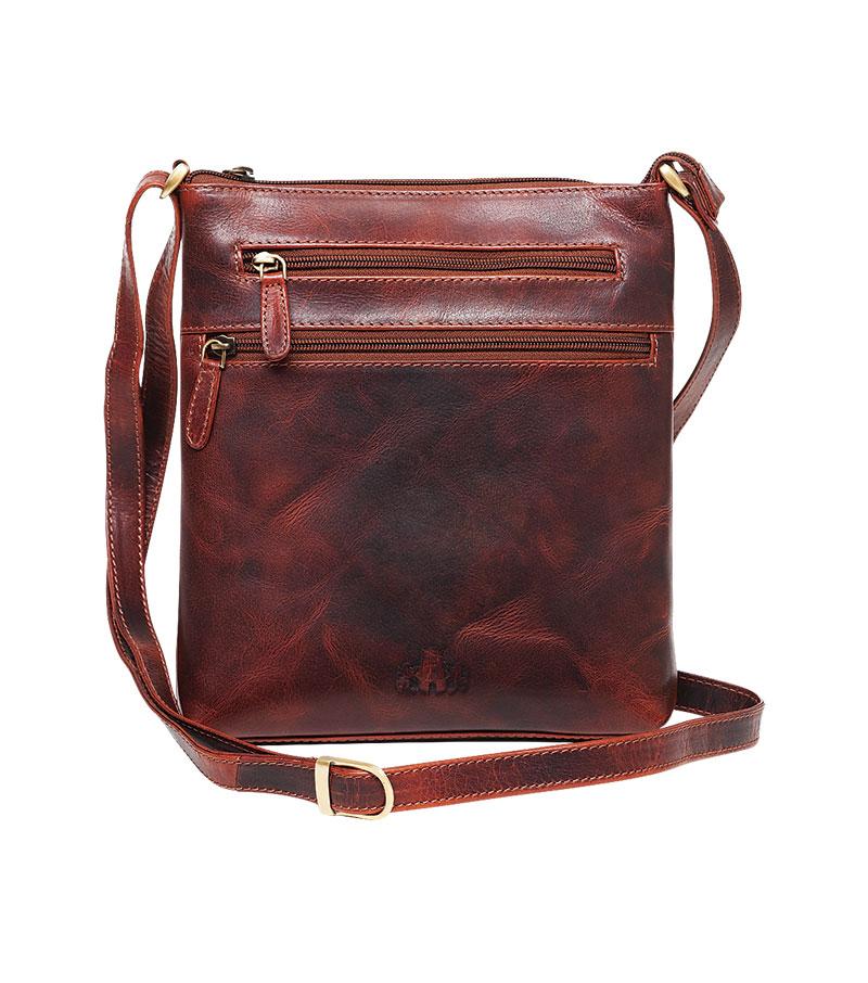 a36c1710f4 Cedarwood Zip Top Cross Body Bag by Rowallan
