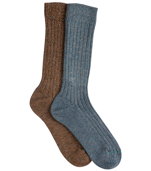 Largs Wool Socks (Twinpack)