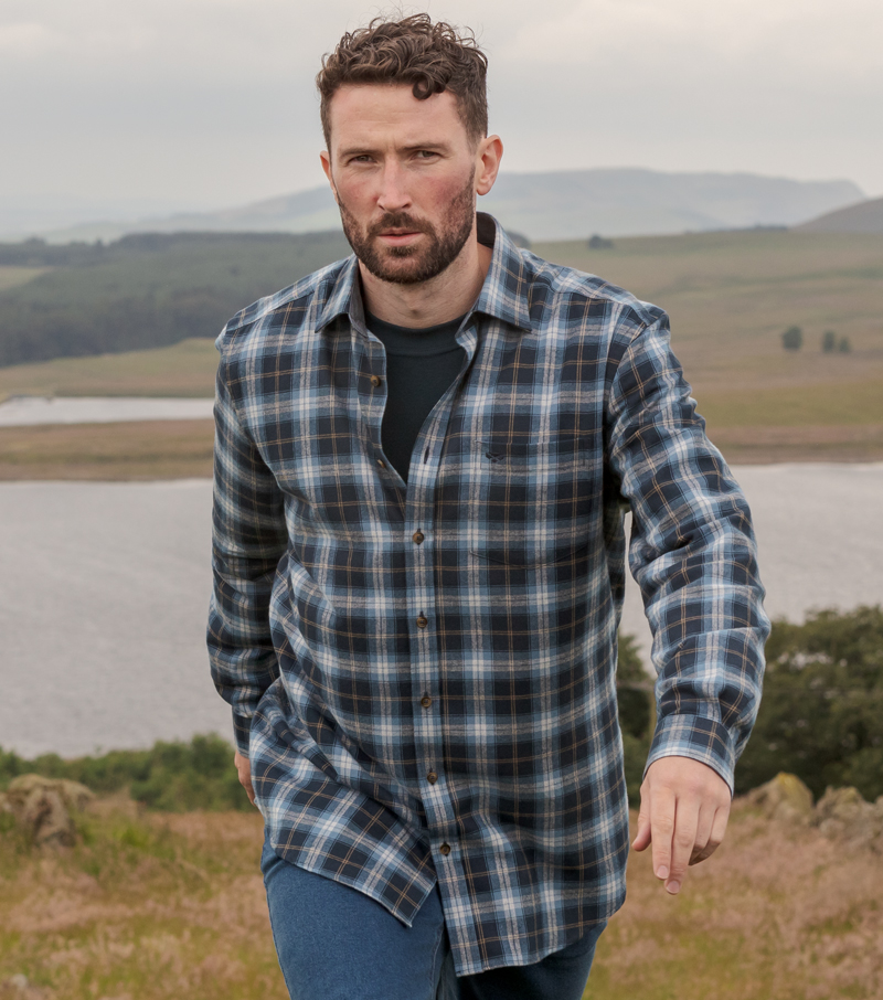 Orkney Flannel Shirt