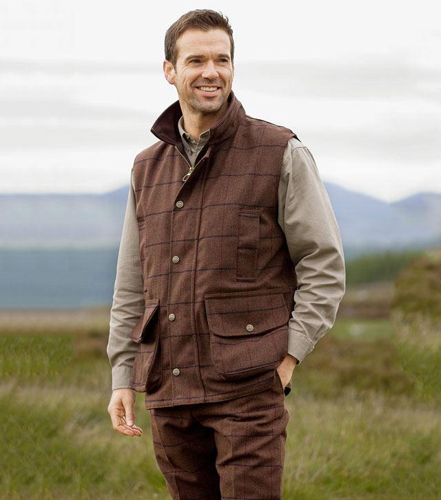 Dirleton Tweed Waistcoat