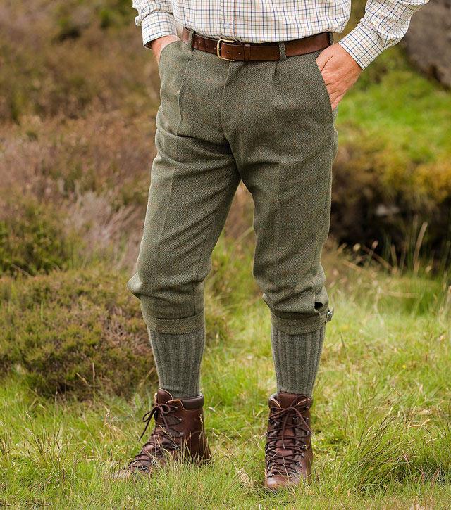 Edinburgh Tweed Breeks By Hoggs Of Fife Tweeds From Fife