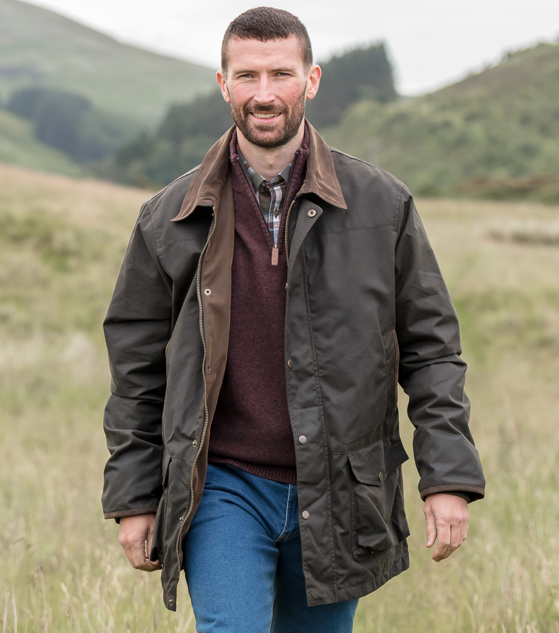 Caledonia Waterproof Waxed Jacket