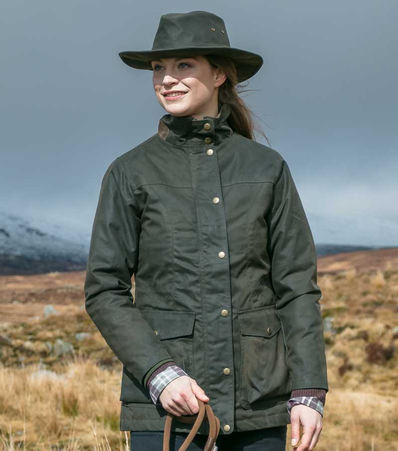 Caledonia Wax Field Jacket