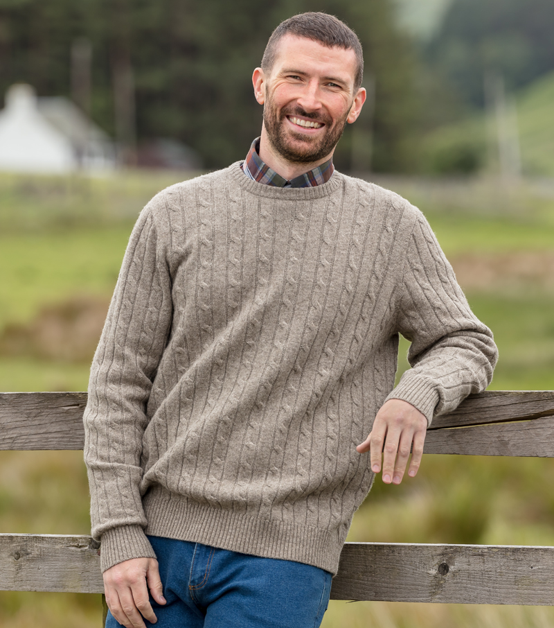Jedburgh Cable Pullover