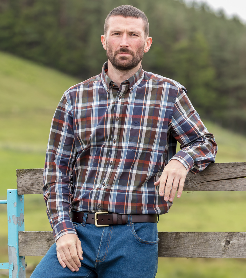 Luthrie Plaid Shirt