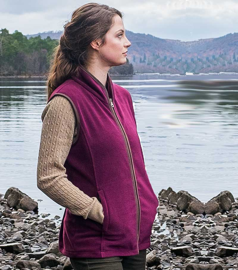 Ladies Stenton Gilet