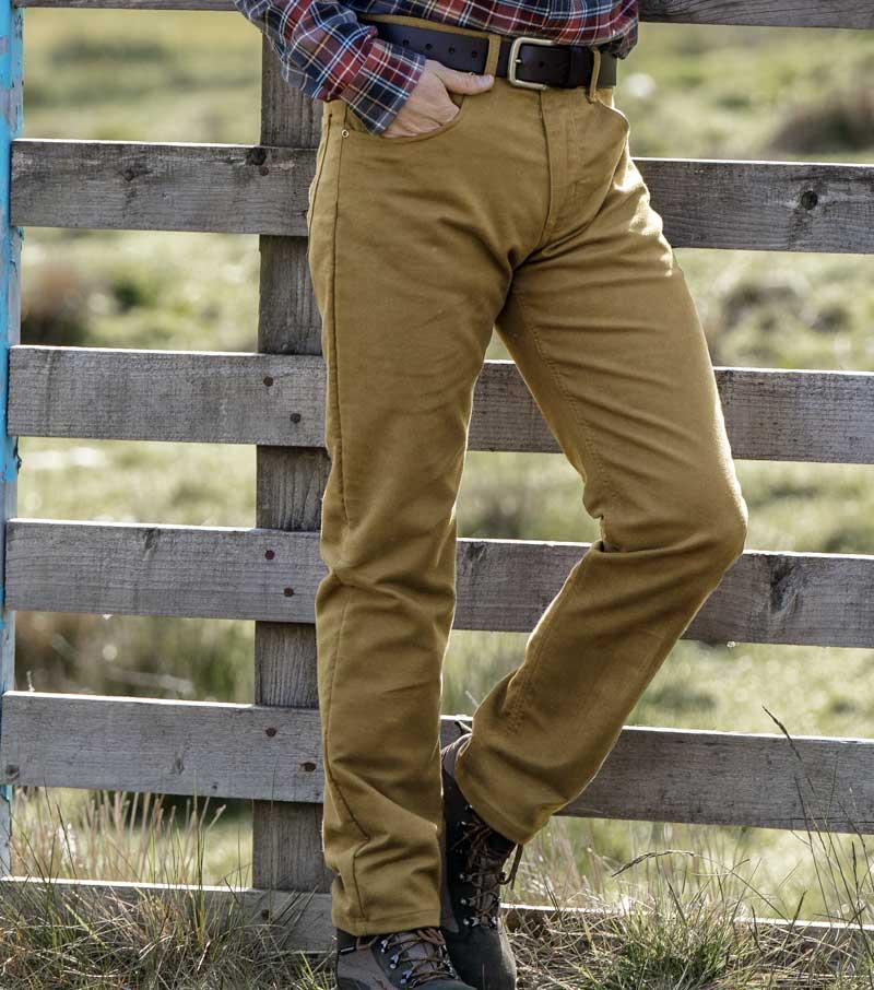 Stretch Moleskin Jeans