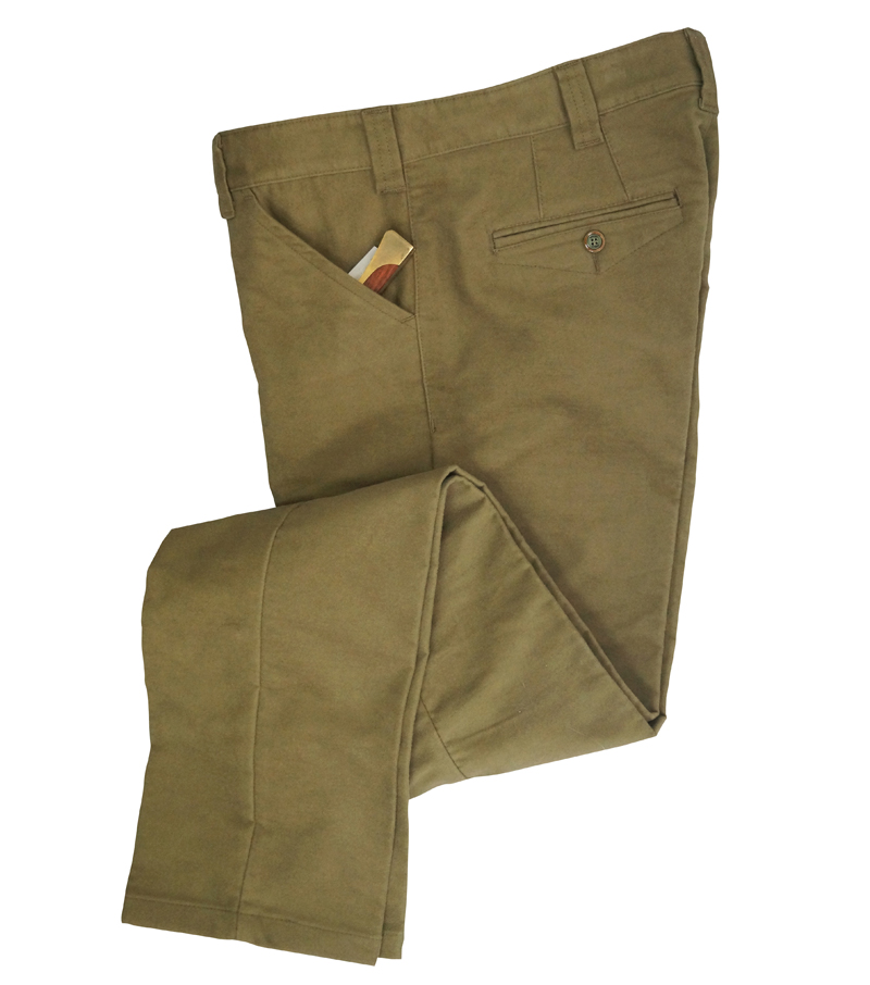 Stretch Moleskin Trouser
