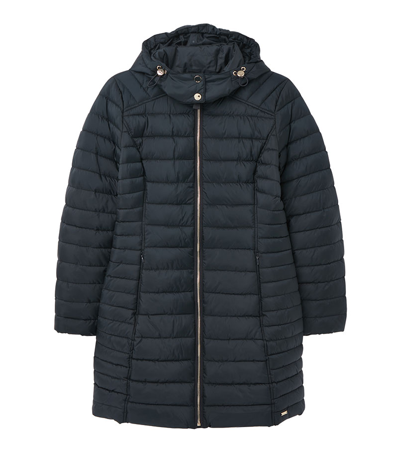 Canterbury Long Puffer Coat