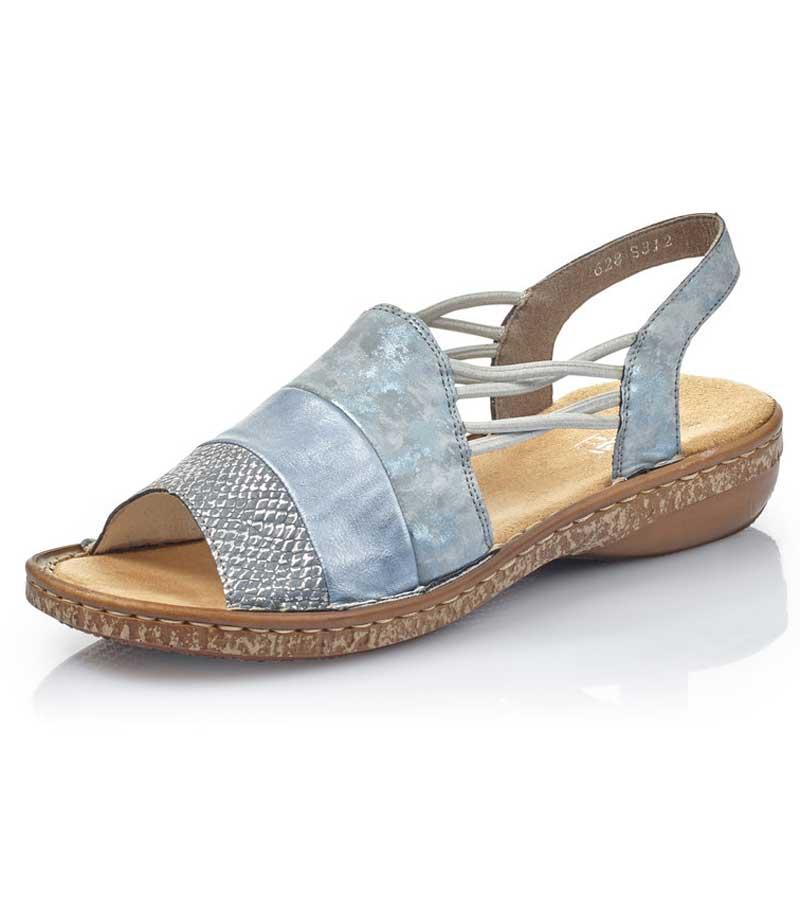 Rieker Cross Strap Sandal