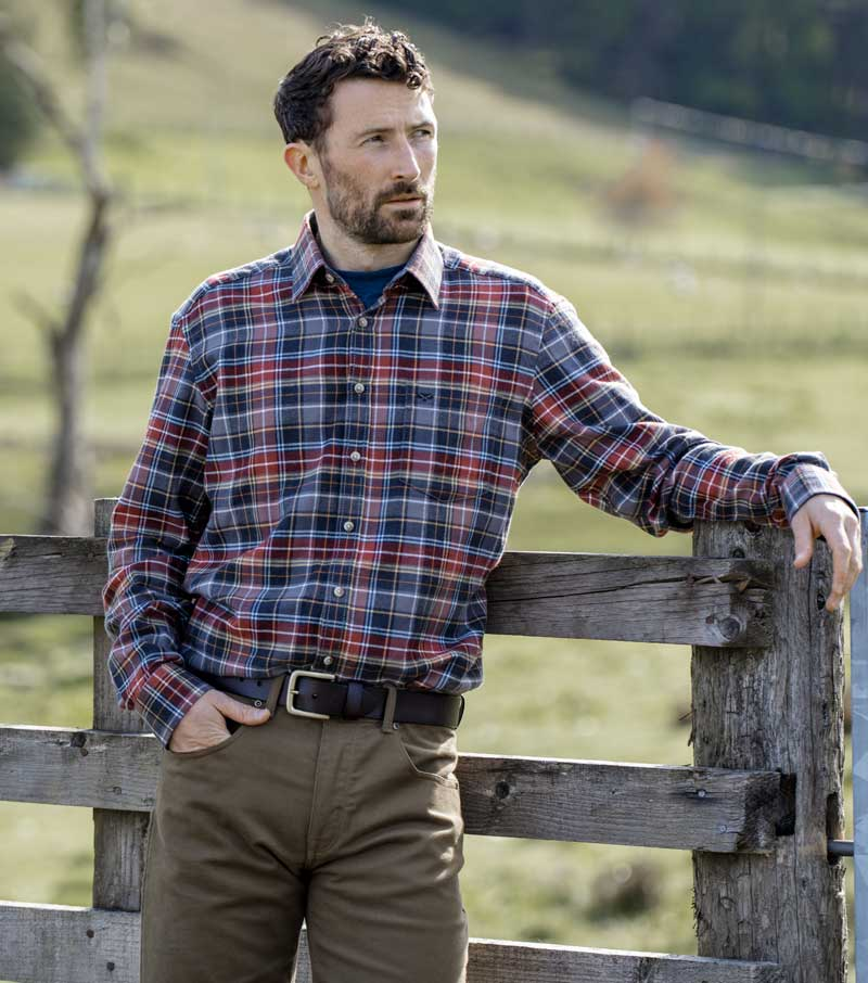Pitlochry Flannel Shirt
