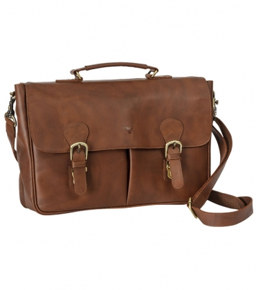 Luxury Leather Satchel
