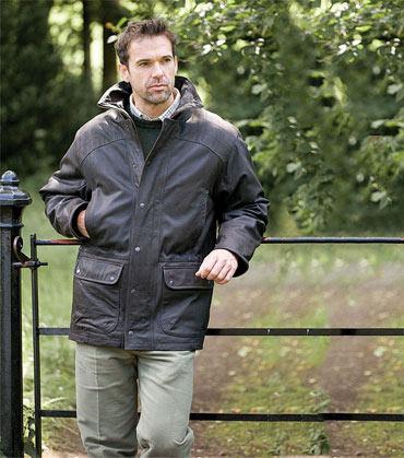 Gordon ramsay leather jacket