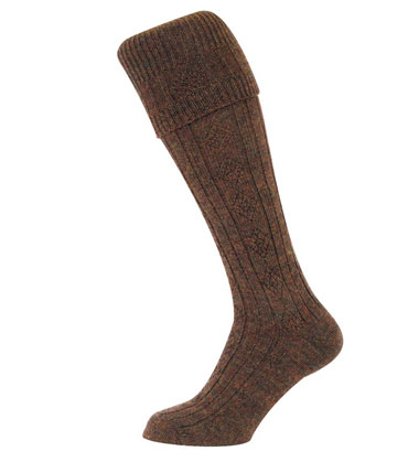 Country Cable Knit Stocking