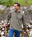 Rugged Cotton Canvas Shirt Cool Khaki