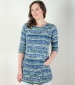 Harriet Tunic Navy