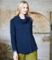 Bea Wrap Jumper Navy