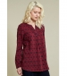 Scoop Hem Top Merlot