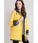 Reversible Raincoat Mustard