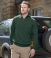 1/4 Zip Pullover Forest