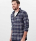 Buchannan Flannel Shirt Brown Check