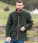 Stenton Fleece Jacket Green