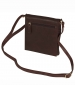 Crossover Leather Bag Brown