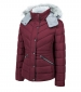 Quilted Jacket Burgundy