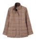 Tweed Fieldcoat Green Blue Check