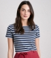 Sailor Tee Breton Night Ecru