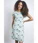Tallahassee Printed Dress Navy