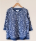 Toki Sweatshirt Top Nightshadow