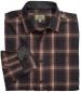 Orcadian Twill Shirt Rust