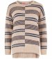 Niko Stripe Jumper Chalk