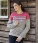 Steffi Fairisle Jumper Chalk