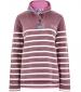 Hansley Striped Sweatshirt Purple Potion
