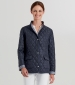 Quilted Reversible Jacket Navy