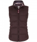 Susa Waxed Gilet Mulled Wine