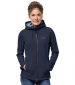 Riverland Hooded Jacket Midnight Blue
