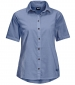 Indian Spring Shirt Dusk Blue Stripes