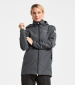 Noor Womans Parka Coal Black