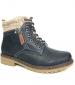Benson Collar Boot Navy