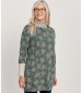 Shore Foraging Tunic Painted Blooms