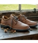 Cromarty Casual Shoe Dark Oak Nubuck