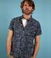 Thomkins Hawaiian Shirt Navy