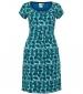 Satso Viscose Dress Green